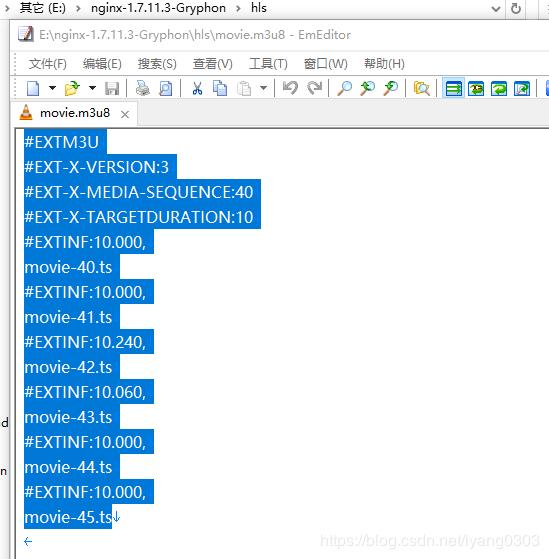Ffmpeg generates hls live stream - Programmer Sought
