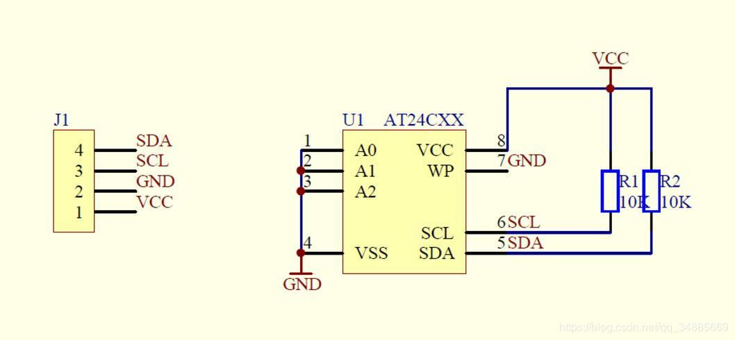 STM32 AT24C16 (EEPROM) driver code (program stable, clear